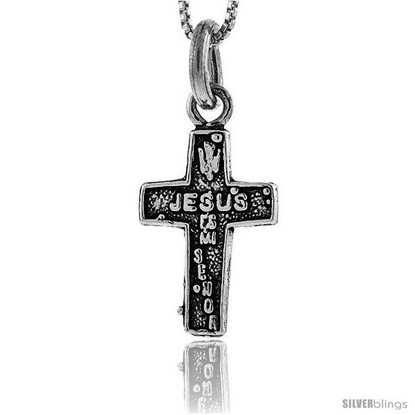 https://www.silverblings.com/86425-thickbox_default/sterling-silver-jesus-es-mi-senor-cross-pendant-1-in-tall.jpg