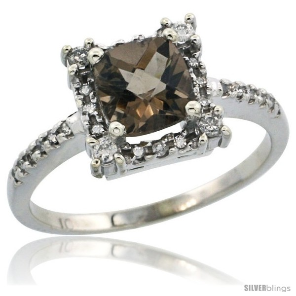 https://www.silverblings.com/86774-thickbox_default/10k-white-gold-diamond-halo-smoky-topaz-ring-1-2-ct-checkerboard-cut-cushion-6-mm-11-32-in-wide.jpg