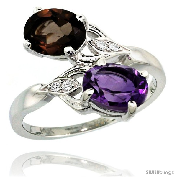 https://www.silverblings.com/86902-thickbox_default/14k-white-gold-8x6-mm-double-stone-engagement-amethyst-smoky-topaz-ring-w-0-04-carat-brilliant-cut-diamonds-2-34.jpg
