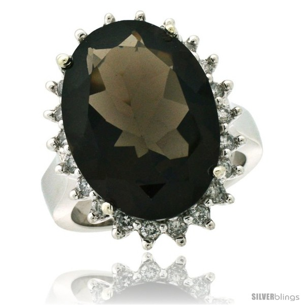 https://www.silverblings.com/86986-thickbox_default/10k-white-gold-diamond-halo-smoky-topaz-ring-10-ct-large-oval-stone-18x13-mm-7-8-in-wide.jpg