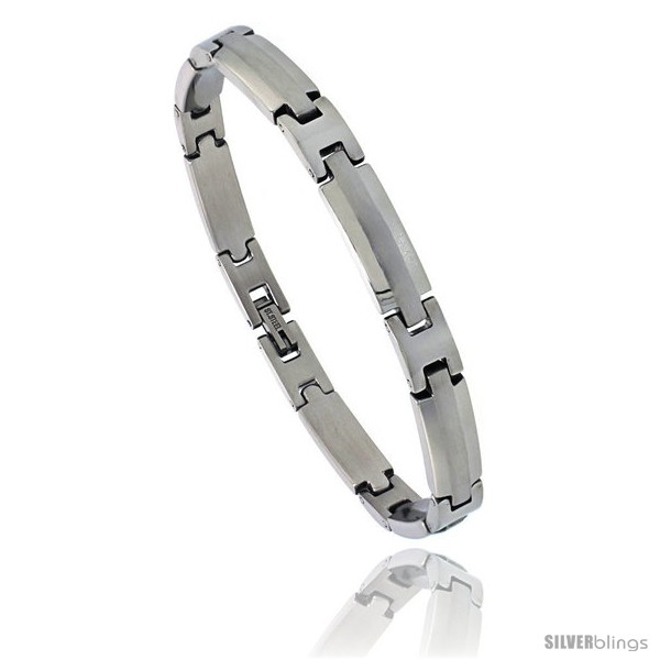 https://www.silverblings.com/870-thickbox_default/stainless-steel-satin-finish-center-bar-bracelet-1-4-in-wide-8-5-in-long.jpg