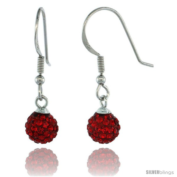https://www.silverblings.com/87288-thickbox_default/sterling-silver-6mm-round-red-disco-crystal-ball-fish-hook-earrings-1-1-16-in-27-mm-tall.jpg