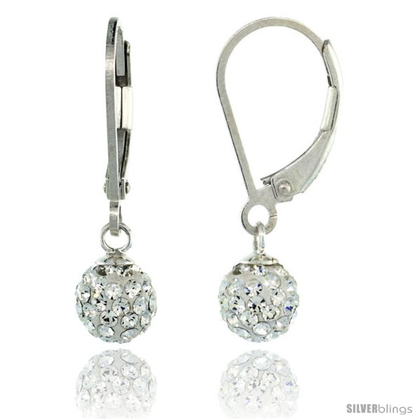 https://www.silverblings.com/87296-thickbox_default/sterling-silver-6mm-round-white-disco-crystal-ball-lever-back-earrings-1-in-25-mm-tall.jpg