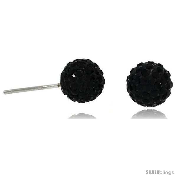 https://www.silverblings.com/87310-thickbox_default/sterling-silver-8mm-round-black-disco-crystal-ball-stud-earrings.jpg