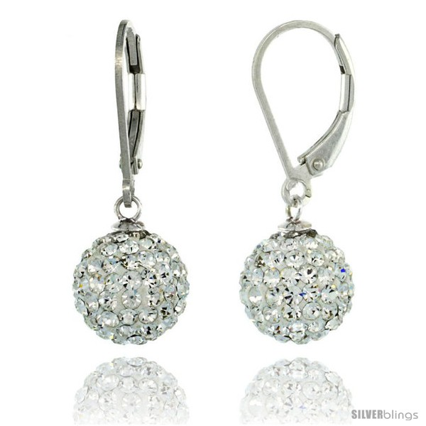 https://www.silverblings.com/87504-thickbox_default/sterling-silver-10mm-round-white-disco-crystal-ball-lever-back-earrings-1-1-8-in-28-mm-tall.jpg