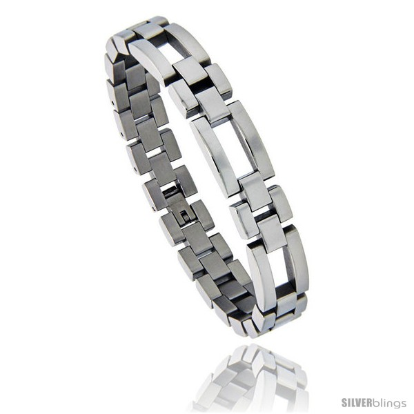 https://www.silverblings.com/876-thickbox_default/stainless-steel-polished-watch-band-style-bracelet-1-2-in-wide-8-25-in.jpg