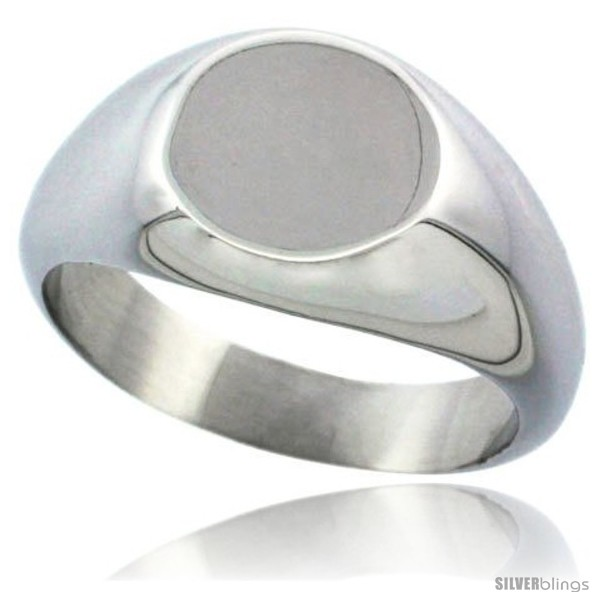 https://www.silverblings.com/8782-thickbox_default/surgical-steel-small-signet-ring-solid-back-flawless-finish-3-8-in-round.jpg