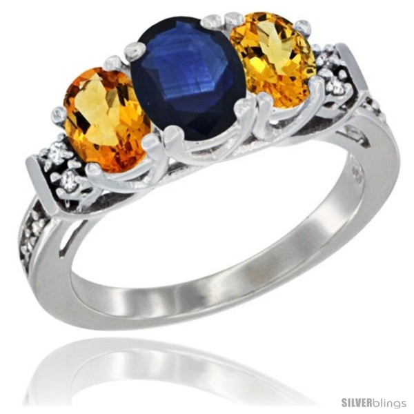 https://www.silverblings.com/87888-thickbox_default/14k-white-gold-natural-blue-sapphire-citrine-ring-3-stone-oval-diamond-accent.jpg