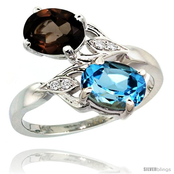 https://www.silverblings.com/88303-thickbox_default/14k-white-gold-8x6-mm-double-stone-engagement-swiss-blue-smoky-topaz-ring-w-0-04-carat-brilliant-cut-diamonds-2-34.jpg
