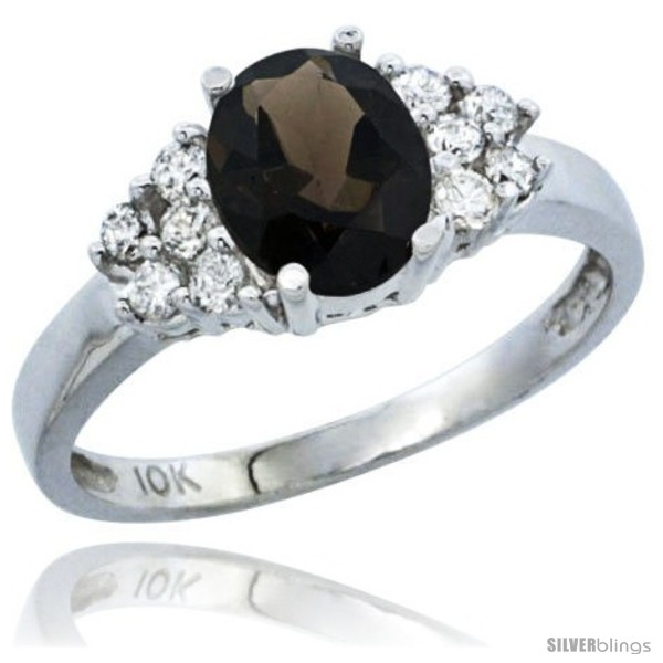 https://www.silverblings.com/89147-thickbox_default/10k-white-gold-natural-smoky-topaz-ring-oval-8x6-stone-diamond-accent.jpg