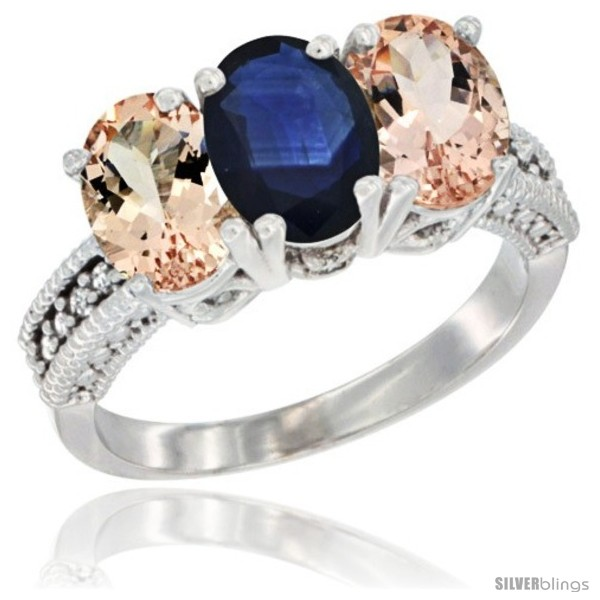 https://www.silverblings.com/89219-thickbox_default/10k-white-gold-natural-blue-sapphire-morganite-sides-ring-3-stone-oval-7x5-mm-diamond-accent.jpg