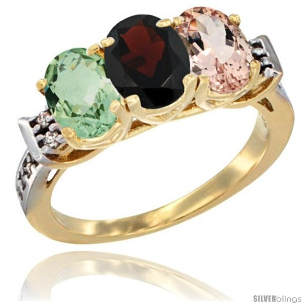 https://www.silverblings.com/89249-thickbox_default/10k-yellow-gold-natural-green-amethyst-garnet-morganite-ring-3-stone-oval-7x5-mm-diamond-accent.jpg