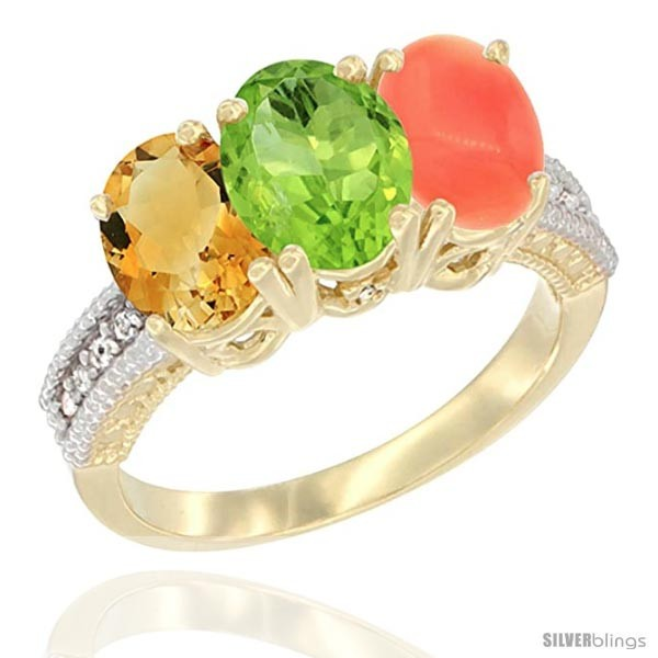 https://www.silverblings.com/89936-thickbox_default/14k-yellow-gold-natural-citrine-peridot-coral-ring-3-stone-7x5-mm-oval-diamond-accent.jpg