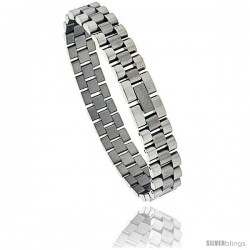Stainless Steel Rolex Type Bracelet, 8 in long