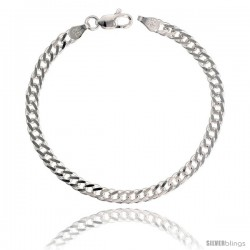 Sterling Silver Rombo Double Link Chain Necklaces & Bracelets Nickel Free 4mm wide