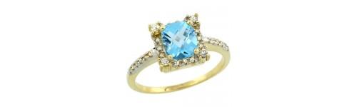 Color Gemstone Rings