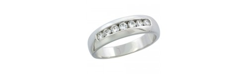 Silver Wedding & Engagement Rings