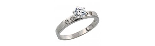 Women's Fine Solitaire Rings