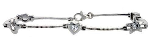Women's CZ Stone Bracelets