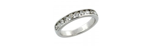 10k White Gold Rings for Women