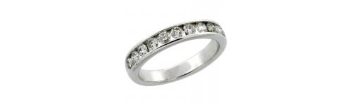 10k White Gold Rings for Women