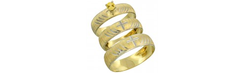 10k Yellow Gold Yellow Sapphire Rings