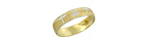 10k Yellow Gold Ladies' Bands