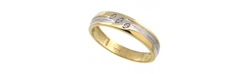 10k Yellow Gold Rings for Men