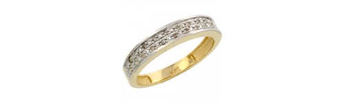14k Yellow Gold Ladies' Bands