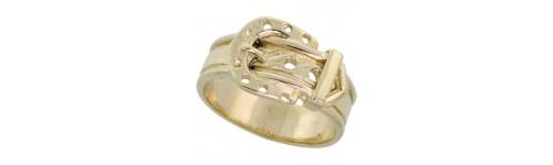 14k Yellow Gold Ladies' Rings