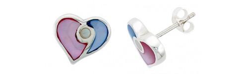 Color Gemstone Earrings