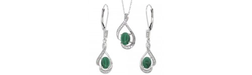 14k White Gold Jewelry Sets