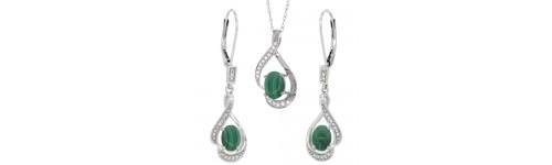 14k White Gold Jewelry Sets