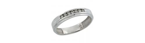 14k White Gold Rings for Men