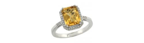 Whisky & Diamonds Silver Rings