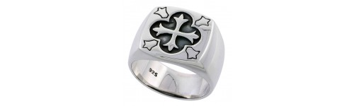 Men's High Quality Polished Rings