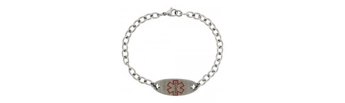 Stainless Steel Medical Alert Bracelets