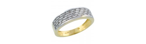14k Yellow Gold Rings for Men
