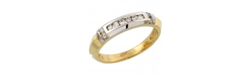 14k Yellow Gold Rings for Women