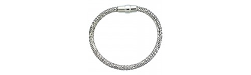 Sterling Silver Bracelets with Magnetic Clasps
