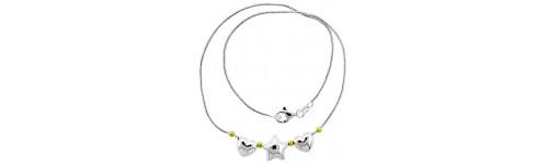 Sterling Silver Bracelet & Necklace Sets