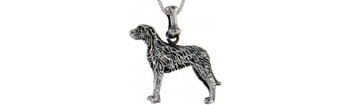 Sterling Silver Dog Pendants