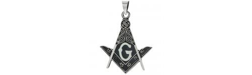 Sterling Silver Masonic Pendants