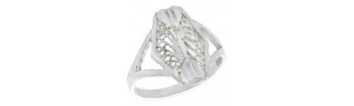 Sterling Silver Filigree Rings