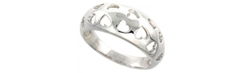 Sterling Silver High Quality Polished Rings