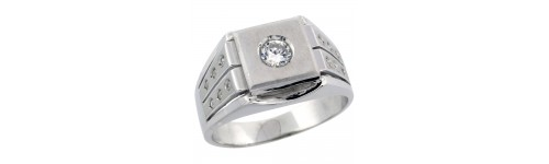 Sterling Silver Men's Rings