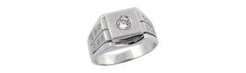 Sterling Silver Men's Rings