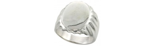 Sterling Silver Signet Rings